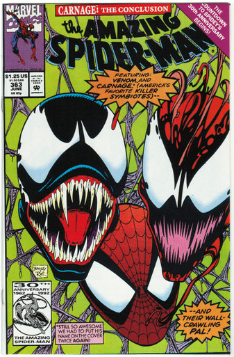 Amazing Spider Man #363 NM Front Cover