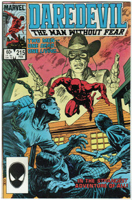 Daredevil #215 VF/NM