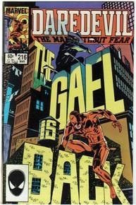 Daredevil #216 VF/NM