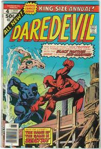 Daredevil King Size Annual #4 F