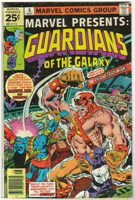 Marvel Presents: Guardians of the Galaxy #6 VG/FN