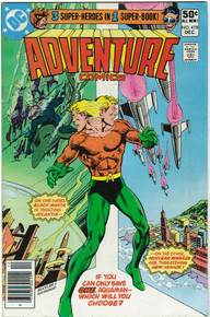 Adventure Comics #478 VF