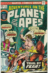 Adventures on the Planet of the Apes #4 VG