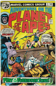 Adventures on the Planet of the Apes #5 VG