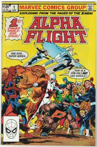 Alpha Flight #1 VF/NM Front Cover