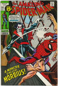 Amazing Spider Man #101 VF 1st Appearance of Morbius!