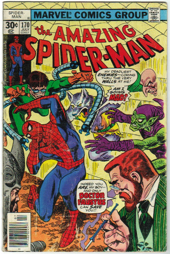 Amazing Spider Man #170 GD Front Cover