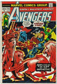 Avengers #112 GD