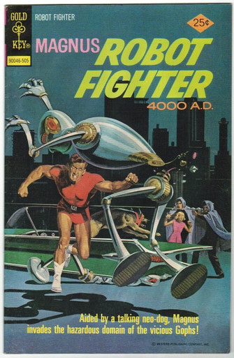 Magnus Robot Fighter #39 VF Front Cover