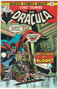 Tomb of Dracula #32 Very Fine
