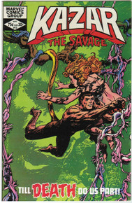 Kazar the Savage #13 VF