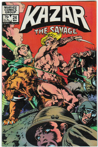 Kazar the Savage #24 VF