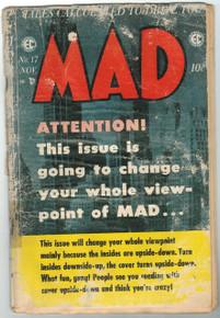 Mad Magazine #17 PR