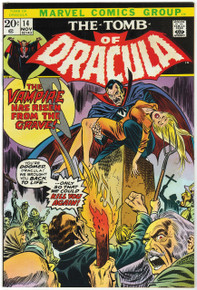 Tomb of Dracula #14 VF/NM Front Cover