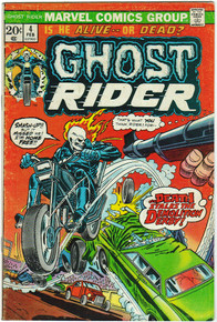 Ghost Rider #4 FN