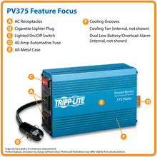 Tripplite 375 Watt Power Inverter
