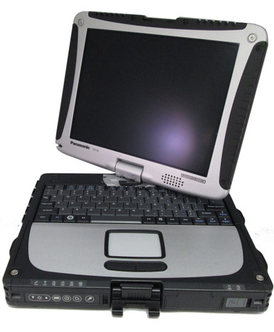 Refurbished Fully-rugged Panasonic Toughbook CF-18 MK5 Convertible notebook PC - Fully refurbished by Telrepco