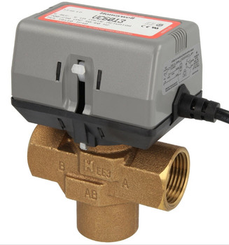Honeywell VC6013MP6000 3-way valve, 1″ IT, without limit switch