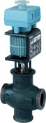 MXG461.20-5.0 mixing 2-port magnetic control valve