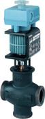 MXG461.25-8.0 mixing 2-port magnetic control valve