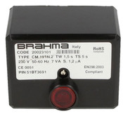 Gas burner control unit CM 191.2 Brahma 20023101