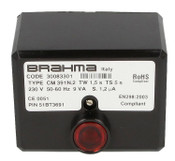 Gas burner control unit CM391.2 Brahma 30083301