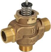 "Honeywell VCZMG6000 Three-way diverter valve 3/4"" ET"