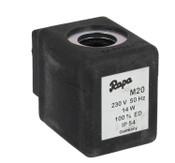 solenoid spool Rapa M 20 230 V 50 Hz 14 W