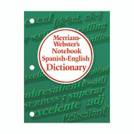 MERRIAM WEBSTERS NOTEBOOK SPANISH