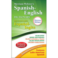 MERRIAM WEBSTERS SPANISH-ENGLISH PAPERBACK