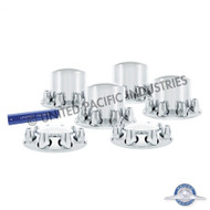 United Pacific Dome Axle Cover Combo Kit W/Standard Nut Cover - 33MM