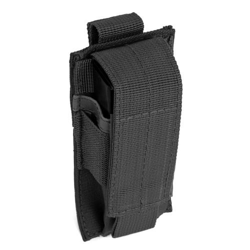 Single Pistol Mag Pouch - Black