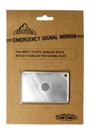 Emergency Signal Mirror - Pkg