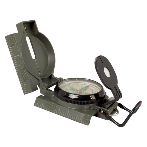 Military Marching Compass - Open