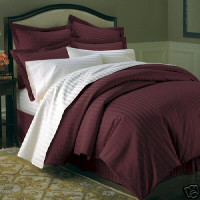 Royal Tradition 600 Thread Count 100% Cotton Sateen Strip...