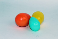 Eggshells, plastic