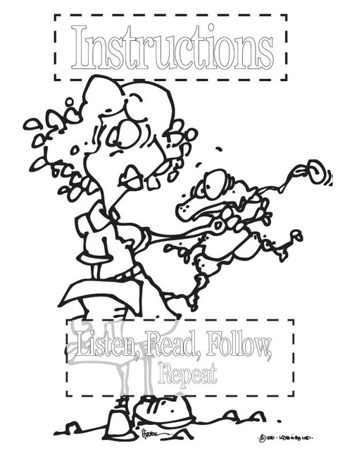 safety equipment coloring pages | Science Safety Posters for Coloring PDF