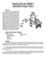 Dancing Dry Ice Bubbles PDF