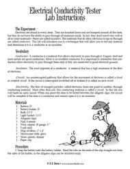Electrical Conductivity Tester PDF