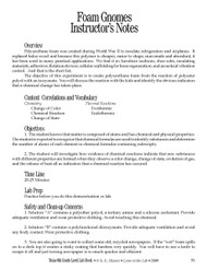 Foam Gnomes PDF