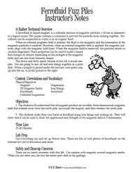 Ferrofluid Fuzz Piles PDF
