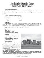 Synchronized Sundial Demo PDF