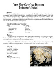 Grow Your Own Cave Popcorn PDF