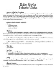 Rotten Egg Gas  PDF