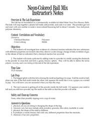 Neon-Colored Ball Mix PDF