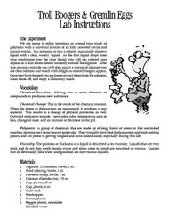 Troll Boogers & Gremlin Eggs PDF
