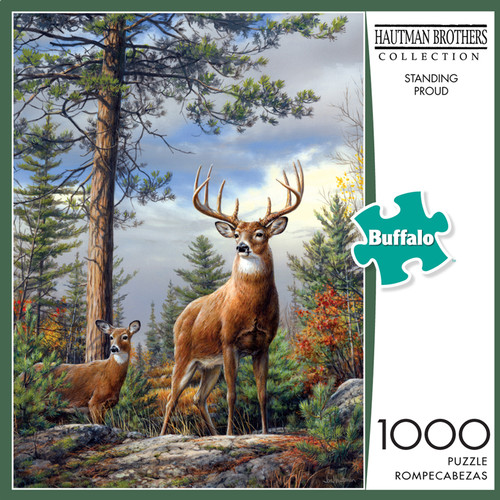 Hautman Brothers Standing Proud 1000 Piece Jigsaw Puzzle Box