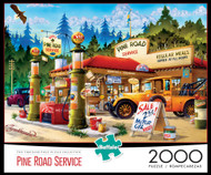 Pine Road Service 2000 Piece Jigsaw Puzzle Box