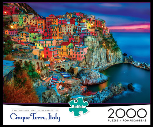 a17183afd386f Cinque Terre Italy 2000 Piece Jigsaw Puzzle - Buffalo Games