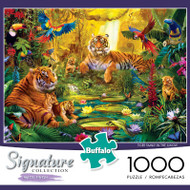 Signature Collection Tiger Family 1000 Piece Jigsaw Puzzle Box